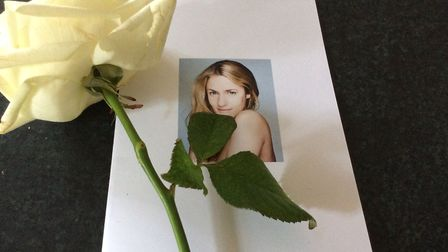 The order of service for Caroline Flack's funeral. Picture: Courtesy of Caroline Flack's family.