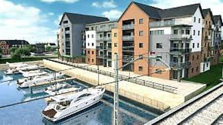 A visualisation of how the new development could look. Pic: Kingsbury Consultants