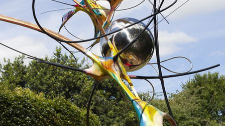 The Raveningham Sculpture Trail returns. Work by Mark Purlant. Picture: KATE WOLSTENHOLME