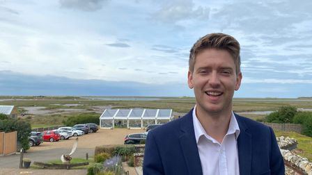Rob Williamson, general manager of the White Horse in at Brancaster. Picture: White Horse Inn