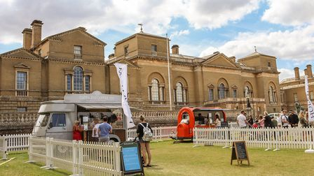 Feast in the Park at the Holkham Estate running every weekend this summer with street food and music