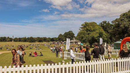 Feast in the Park has proved a huge success so far Picture: Holkham Estate