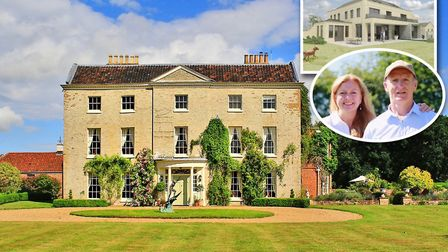 Kevin and Karen Keable, are selling their beautiful country house Bracon Lodge to build their own ul