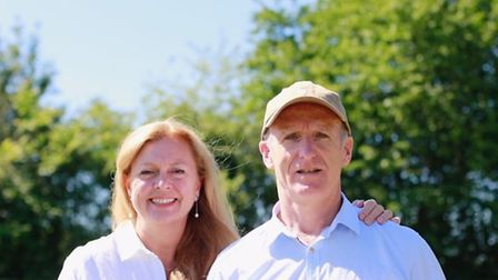 Karen and Kevin Keable, who are selling their Georgian mansion for £2.5m to move into an ultra moder