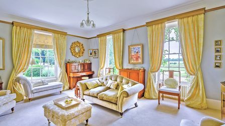 One of Norfolk's most beautiful houses, Bracon Lodge, is for sale for £2.5m. Pic: Strutt & Parker.