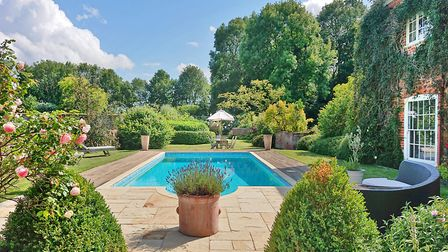 One of Norfolk's most beautiful houses, Bracon Lodge, is for sale for 2.5m. Pic: Strutt & Parker.