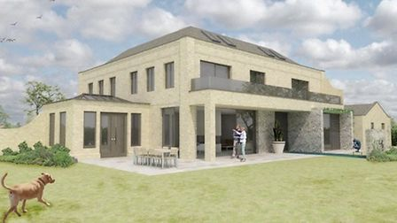 The design of Kevin and Karen Keable's new home which takes inspiration from the Georgian home they