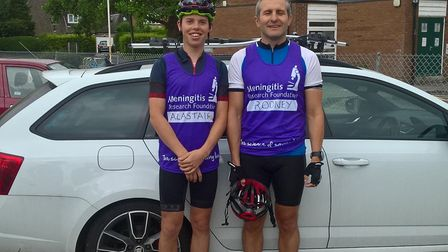 In 2017, Alastair Barrows cycled 310 miles in 20 hours - without stopping - to raise funds for the M