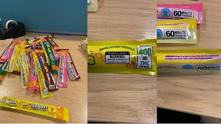 Norfolk Police have issued a warning over cannabis sweets. Picture: Norfolk Police