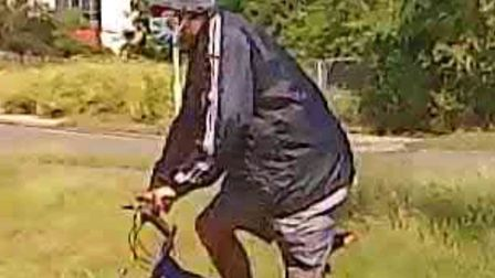 Police are looking to identify this man following a racially aggravated incident in Lowestoft. Pictu