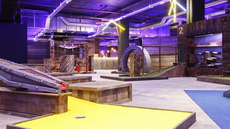 Castle Quarter's new Boom Battle Bar game. Pic: submitted