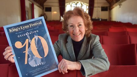 Alison Croose launches the Kings Lynn Festival 2020 Picture: Sonya Duncan