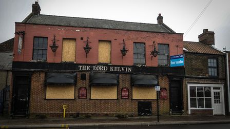 The Lord Kelvin pub, in King's Lynn. Picture: Chris Bishop