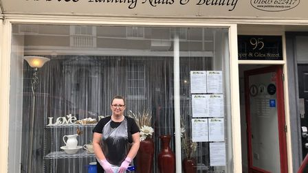 Jayne Saunders, owner of Pebbles Tanning, Nails and Beauty Salon in Norwich, has called for more wom