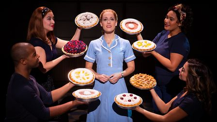 Hit musical Waitress is coming to Norwich Theatre Royal, pictures is Bailey McCall as Jenna on the U