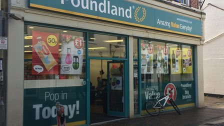 Poundland in Mere Street, Diss. Picture: Sabrina Johnson