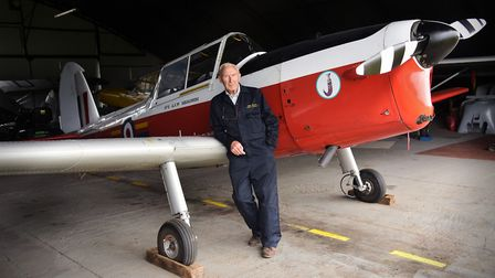 Felthorpe Airfield is home to many vintage planes and the enthusiasts who build and maintain them.Mi