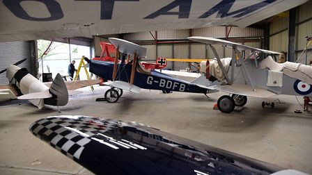 Felthorpe Airfield is home to many vintage planes and the enthusiasts who build and maintain them.By