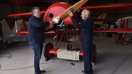 Felthorpe Airfield is home to many vintage planes and the enthusiasts who build and maintain them.Pe