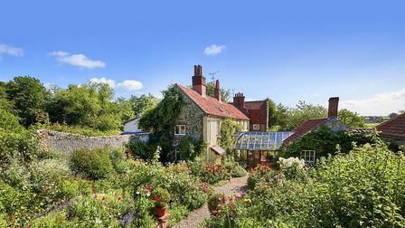 For the first time in 45 years, Wiveton House is on the market for £2.75m. Picture: Sowerbys