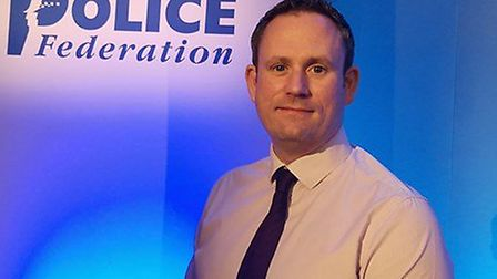 Andy Symonds, chair of the Norfolk Police Federation. PIC: Supplied by Andy Symonds.