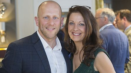 Paula Gundry and husband Craig Knights who have ignored demands from NPE to pay £160 for a 15-second