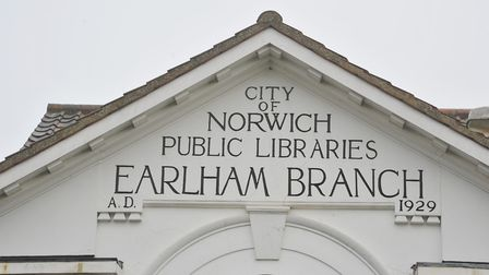 Earlham Library is among those which will reopen in August. Photo: Steve Adams.
