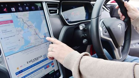 The app idea by Adam Watney would help people with electric cars to locate the nearest charging poin
