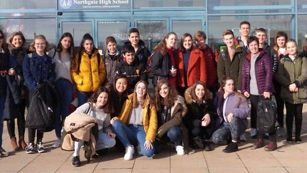 Spanish exchange at Northgate High School in 2019. Picture: NORTHGATE