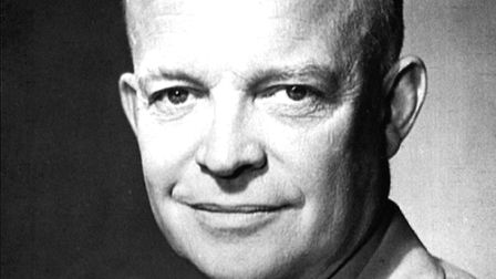 General Eisenhower was supreme allied commander during the Second World War. Picture: US National Ar