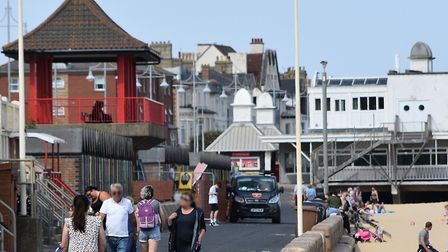 The public toilets below the Pagoda-style shelter at Jubilee North on Lowestoft promenade have now r