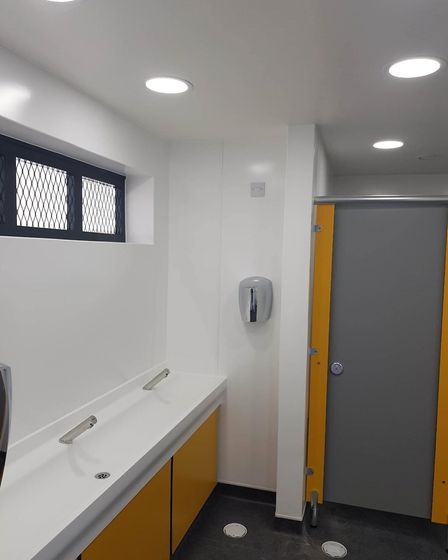 Refurbishment work has been completed on Lowestoft seafront toilets. Pictures: East Suffolk Council