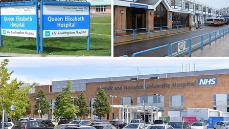 Almost a thousand patients have been waiting for more than a year for treatment at Norfolk's hospita