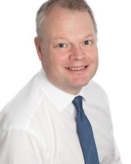 Sam Higginson, chief executive at the Norfolk and Norwich University Hospital. Photo: NNUH