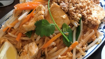 The Pad Thai at The Kings Head in Blofield. Picture: Lauren Cope