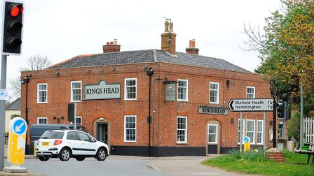 The Kings Head pub on Yarmouth Road in Blofield. Picture: James Bass