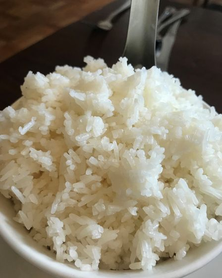 The steamed Jasmine rice at The Kings Head in Blofield. Picture: Lauren Cope