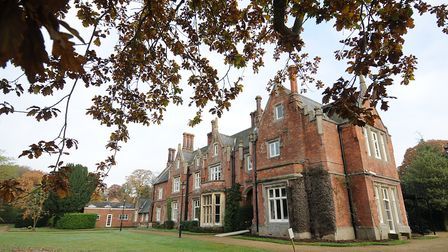 Norfolk County Council is reviewing the future of Holt Hall. PHOTO: ANTONY KELLY