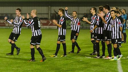 Dereham Town have had to do it the hard way to prolong their run in the FA Cup this season. They've