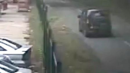 Image of vehicle being sought by police in Swannington fataql crash. PIC: Norfolk Police.