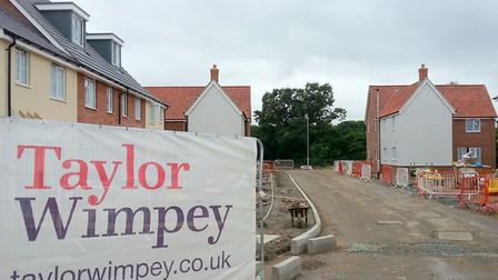 Taylor Wimpey expects to complete 40% fewer homes in 2020. Pic: Taylor Wimpey/Archant library