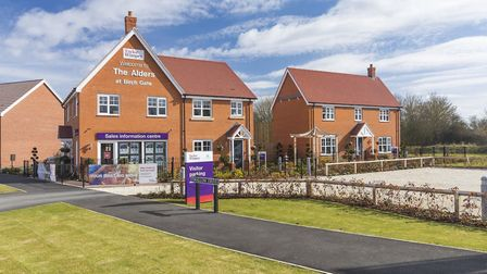 Taylor Wimpey expects to finish 40% fewer homes in 2020. Pic: Taylor Wimpey