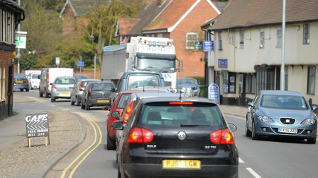Norfoll County Council has progressed plans to create a bypass of Long Stratton on the A140. Picture