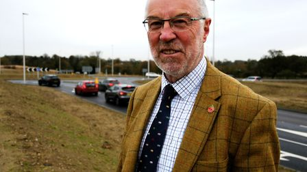 Martin Wilby, Norfolk County Council's cabinet member for highways, says the A140 Long Stratton bypa