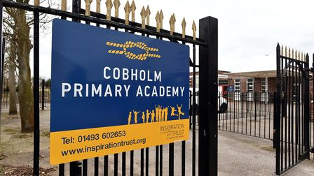 Cobholm Primary Academy, Great Yarmouth.Picture: James Bass