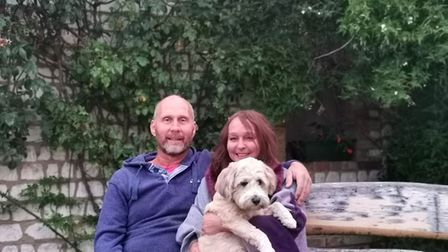 """""""I'm only here because of these people,"""" says Geoff Roberts with his wife Dawn Picture: Rebecca"""