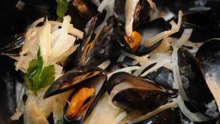 Mussels at the Belgian Monk in Norwich Photo:Sonya Duncan