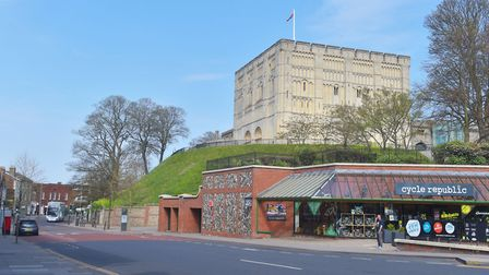 Paul and Deborah Davis were the first couple to marry at Norwich Castle since lockdown. Pictures: BR