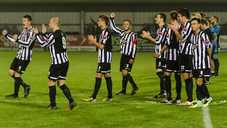 Dereham Town vs St Neots, 16/09/14. Picture by Neil Smith