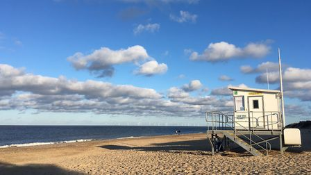 It's not Florida, it's Hemsby. Picture: Nick Richards
